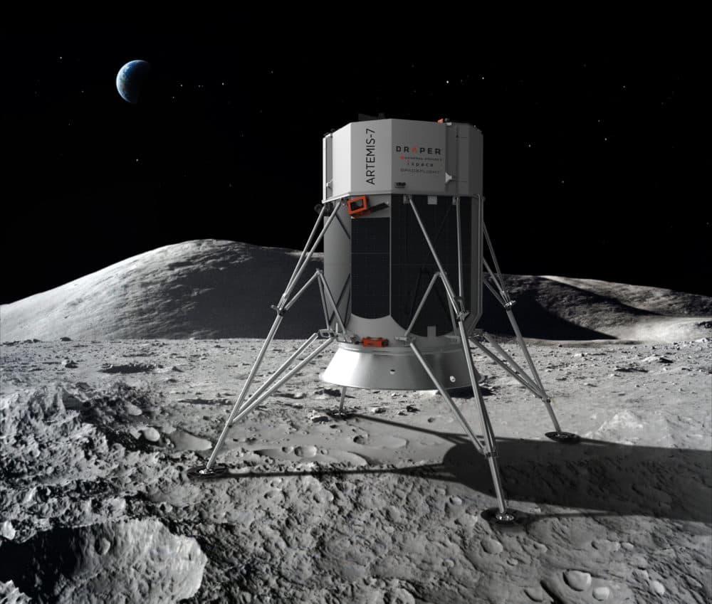 Draper's lunar lander (Courtesy Draper)