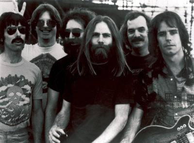 This undated file photo shows Grateful Dead band members, from left, Mickey Hart, Phil Lesh, Jerry Garcia, Brent Mydland, Bill Kreutzmann, and Bob Weir. (AP)