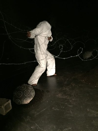 Artist Bashezo performing in 2016 (Courtesy of the artist)