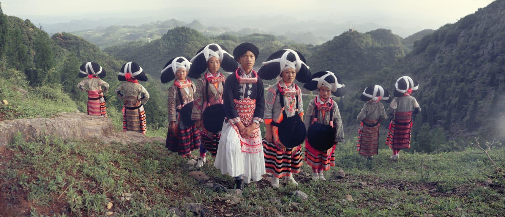 Longhorn, Suo Jia, Liuzhi, Liupanshui, Guizhou. (© Jimmy Nelson Pictures BV)