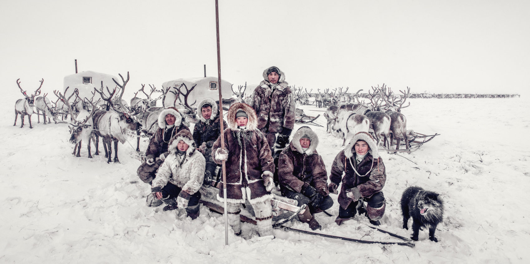 Brigade Migrating with the Baloks, Dolgans | Anabar district, Yakutia | Siberia 2018 (© Jimmy Nelson Pictures BV)