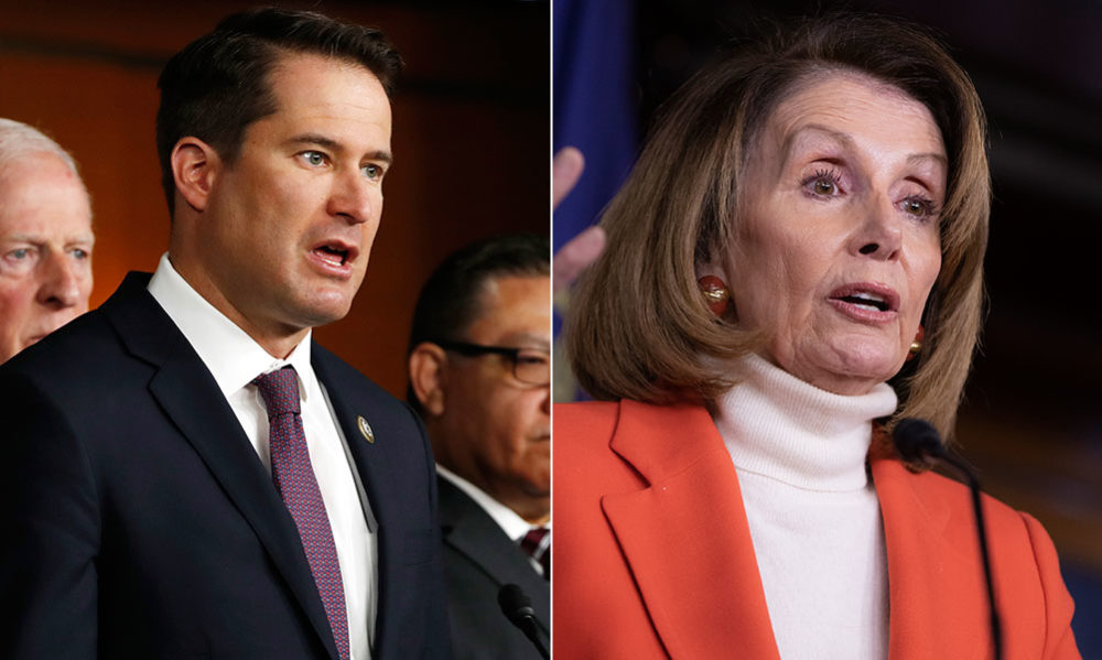 Rep. Seth Moulton led an opposition to prevent Nancy Pelosi from being House speaker again. (AP)