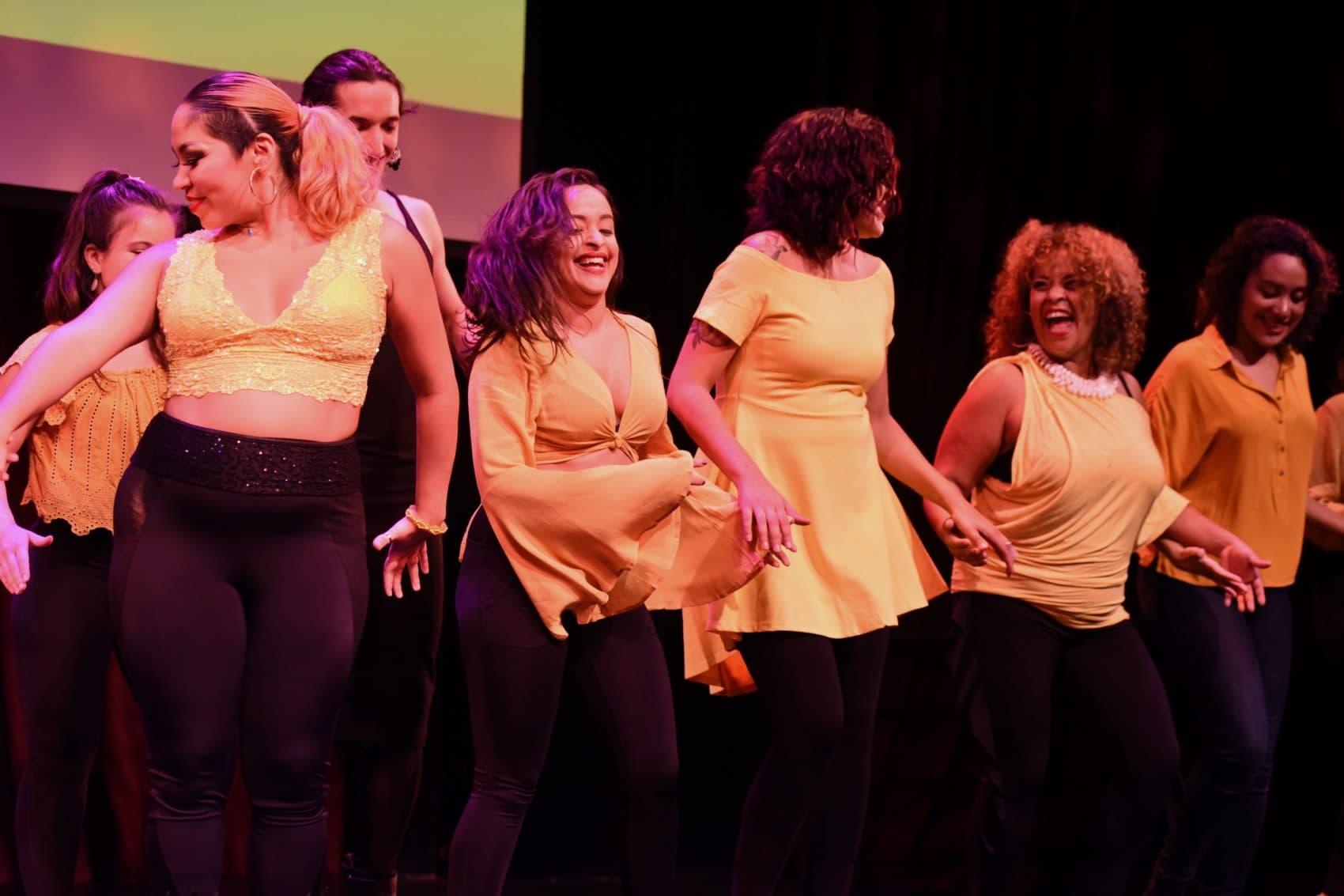 """Yo Soy Lola members perform """"Colores"""" at Oberon in Cambridge (Courtesy Vania Jasmin Arroyo)"""