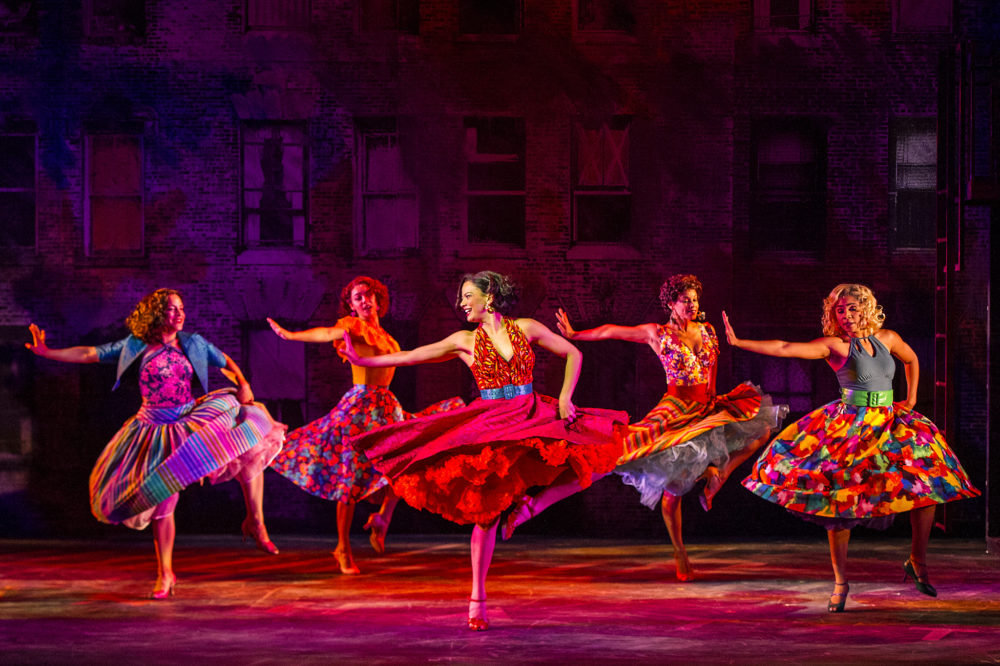 """The Barrington Stage Company cast of """"West Side Story."""" (Courtesy Daniel Rader)"""