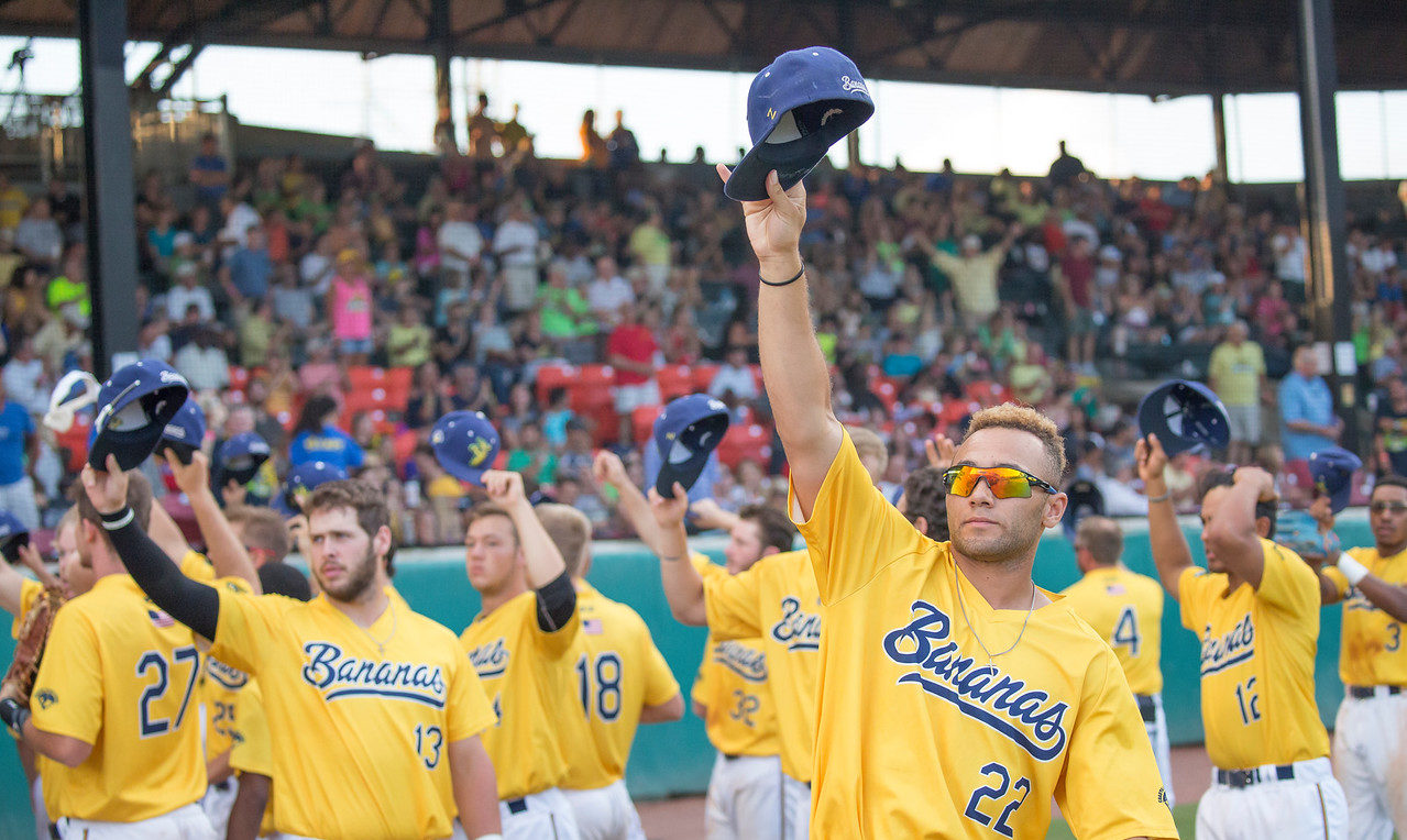 The 2018 Savannah Bananas set the Coastal Plain League's all-time attendance record with over 118,000 fans on the season. (Courtesy Jesse Cole)