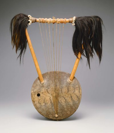 A Ugandan Ndongo in the MFA's rare instruments collection (Courtesy Museum of Fine Arts, Boston)