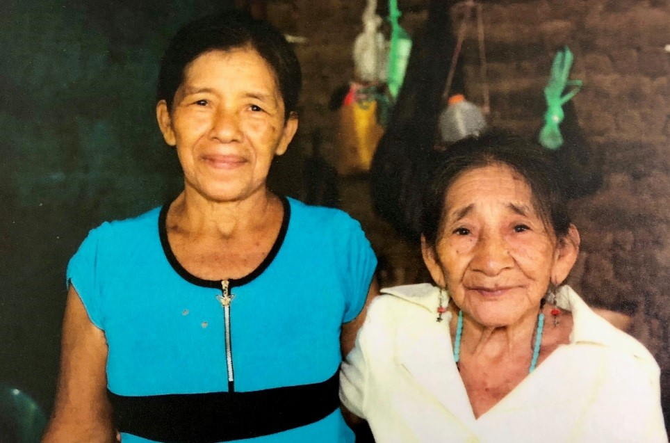 Juana Hernandez photographed with her mother, Saturnina Beltran, in El Salvador. Juana is fighting for her community's access to water. (Courtesy of Oxfam)
