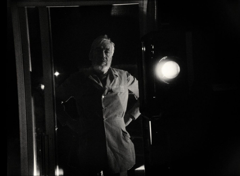 """John Huston in Orson Wells' """"The Other Side of the Wind."""" (Courtesy Netflix)"""