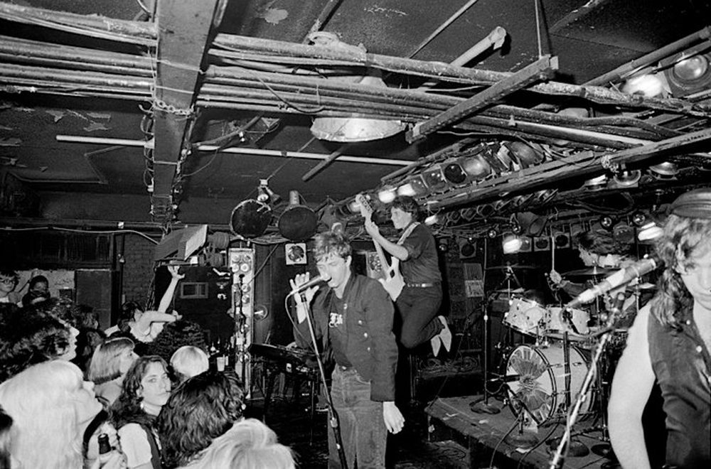 A punk show at the Rathskeller in Boston (Courtesy Music Museum of New England)