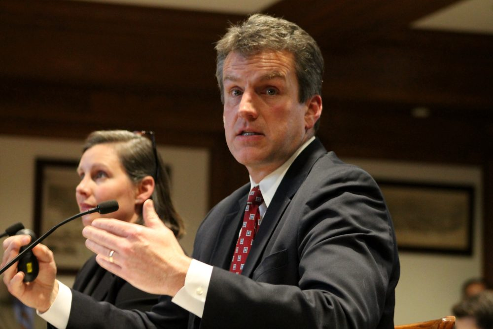 Housing and Economic Development Secretary Jay Ash. (Sam Doran/State House News Service)
