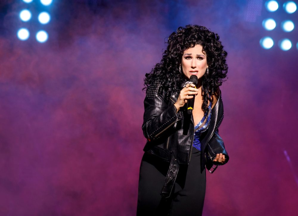 """Stephanie J. Block plays Cher from the 1980s on in the new Broadway musical, """"The Cher Show."""" (Joan Marcus)"""