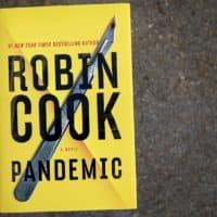 """Pandemic,"" by Robin Cook. (Robin Lubbock/WBUR)"