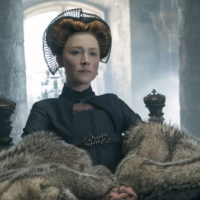 "Saoirse Ronan stars as Mary Stuart in ""Mary Queen of Scots."" (Liam Daniel/Focus Features)"
