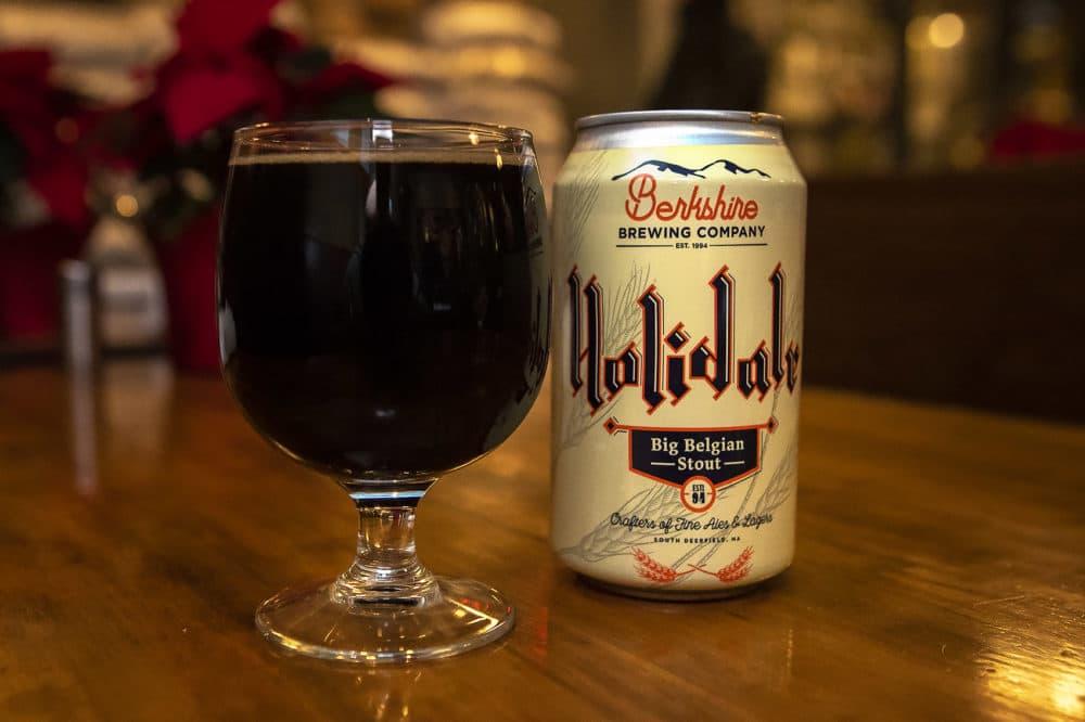 Berkshire Brewing Company's Holidale. (Jesse Costa/WBUR)