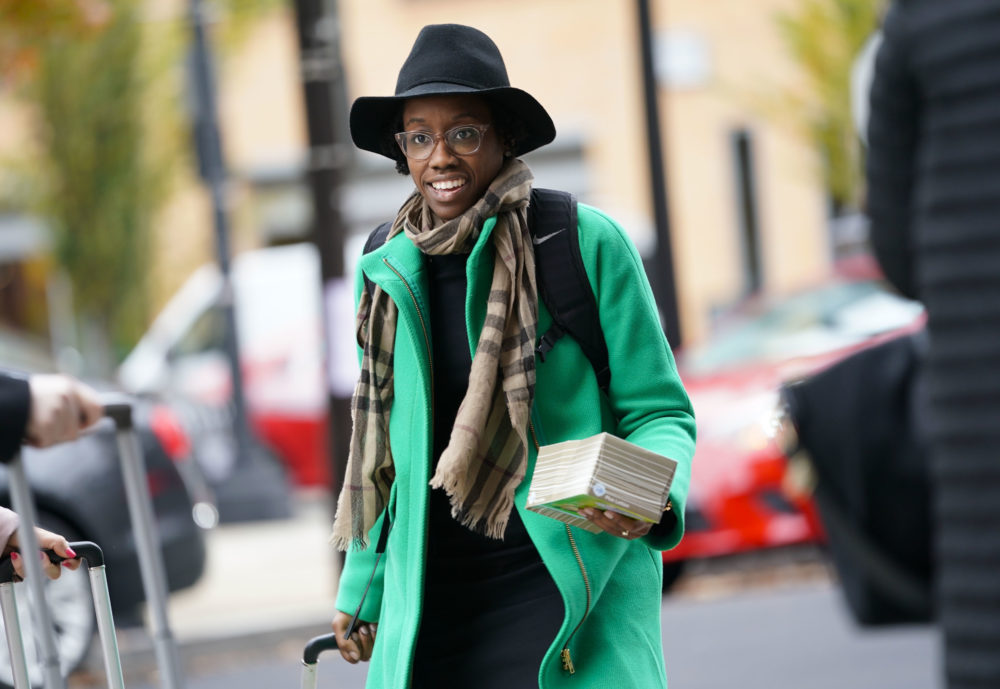 Rep.-elect Lauren Underwood, D-Ill., arriving for orientation for new members of Congress, Tuesday, Nov. 13, 2018, in Washington. (Pablo Martinez Monsivais/AP)