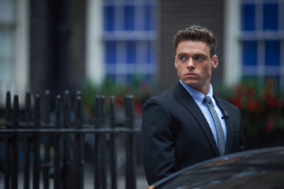 "Richard Madden as Sgt. David Budd, in a still from the Netflix and BBC series ""Bodyguard."" (Sophie Mutevelian/World Productions/Netflix)"