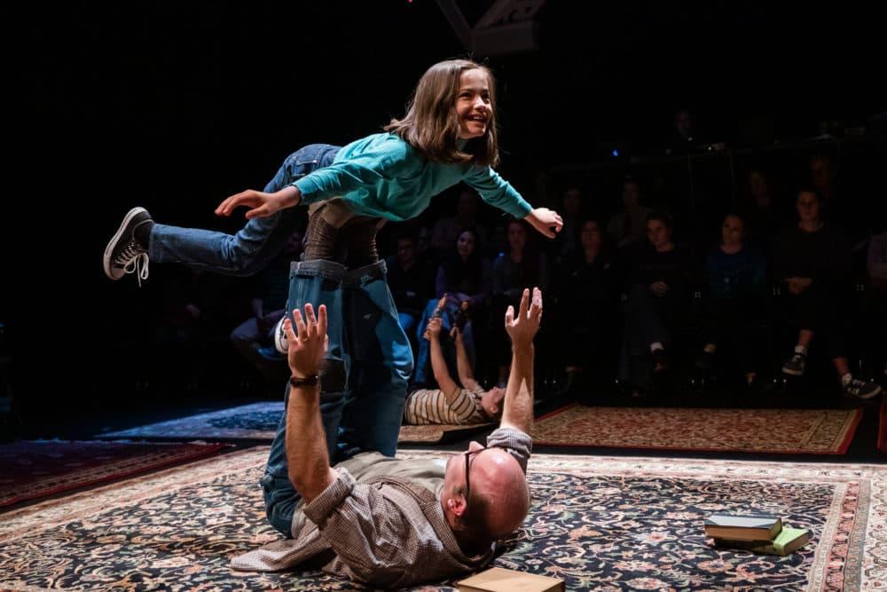 "Marissa Simeqi and Todd Yard in SpeakEasy's ""Fun Home."" (Courtesy Nile Scott Shots)"