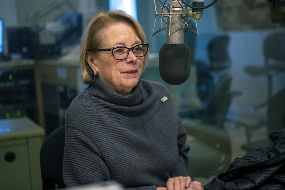 "Outgoing Rep. Niki Tsongas first won election in 2007. ""It's been a real honor, but I also felt it was time for new blood,"" Tsongas says. (Jesse Costa/WBUR)"