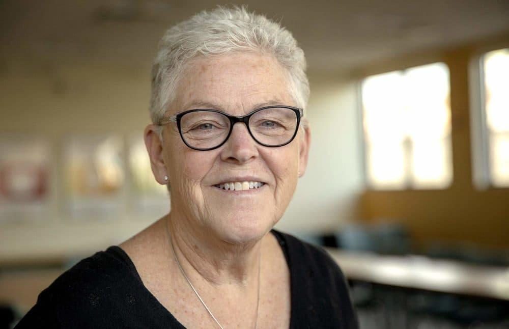 Gina McCarthy at WBUR. (Robin Lubbock/WBUR)