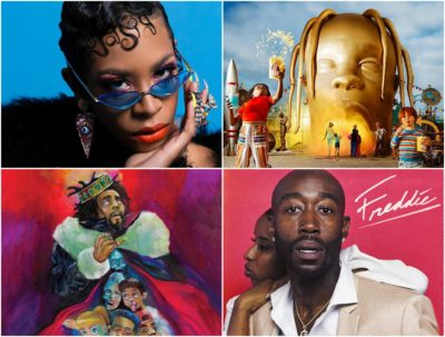 Critic Arielle Gray writes that the digital age hasn't destroyed the art of a good album cover. These are a few that stood out this year. (Courtesy)