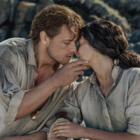 "Actors Sam Heughan and Caitriona Balfe play Jamie and Claire Fraser in the ""Outlander"" series (Courtesy of Starz)"