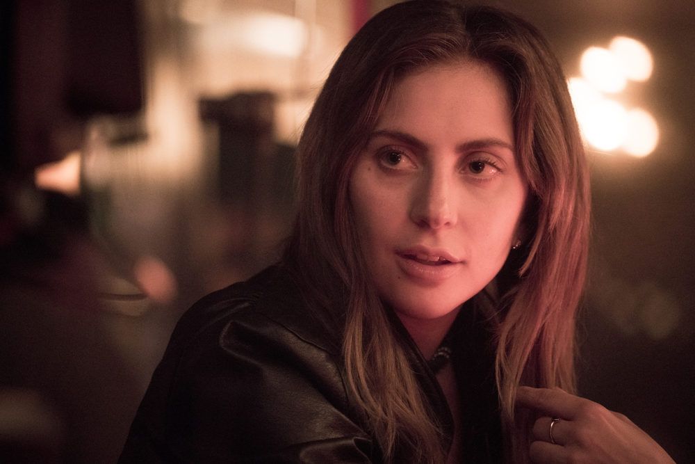 """Lady Gaga as Ally in the drama """"A Star Is Born."""" (Clay Enos/Courtesy of Warner Bros. Pictures)"""