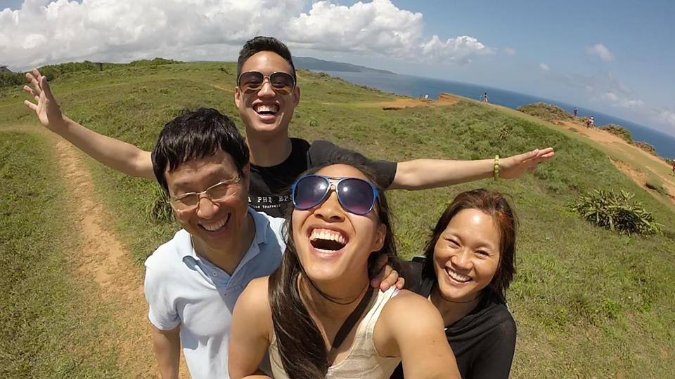 The Hsieh family on vacation in Taiwan in 2015. (Courtesy Emily Hsieh)