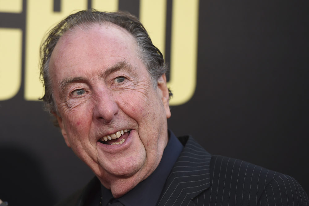 "Eric Idle arrives at the Los Angeles premiere of ""Snatched"" at the Regency Village Theater on Wednesday, May 10, 2017. (Jordan Strauss/Invision/AP)"