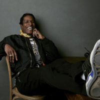 "A$AP Rocky poses for a portrait to promote the film ""Monster"" at the Music Lodge during the Sundance Film Festival on Monday, Jan. 22, 2018, in Park City, Utah. (Taylor Jewell/Invision/AP)"