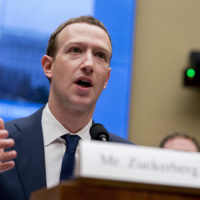 In this April 11, 2018, file photo, Facebook CEO Mark Zuckerberg testifies before a House Energy and Commerce hearing on Capitol Hill in Washington about the use of Facebook data to target American voters in the 2016 election and data privacy. A Delaware judge says he wants to hear from Zuckerberg before ruling on attorney fees in a shareholder suit challenging a proposed stock reclassification. (Andrew Harnik/AP)