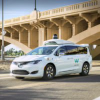 This undated photo provided by Waymo shows its self-driving minivan. Google's self-driving car spinoff is finally ready to try to profit from its nearly decade-old technology. Waymo introduced a small-scale ride-hailing service in the Phoenix area Wednesday, Dec. 4, 2018, that will include a human behind the wheel in case the robotic vehicles malfunction. (Waymo via AP)