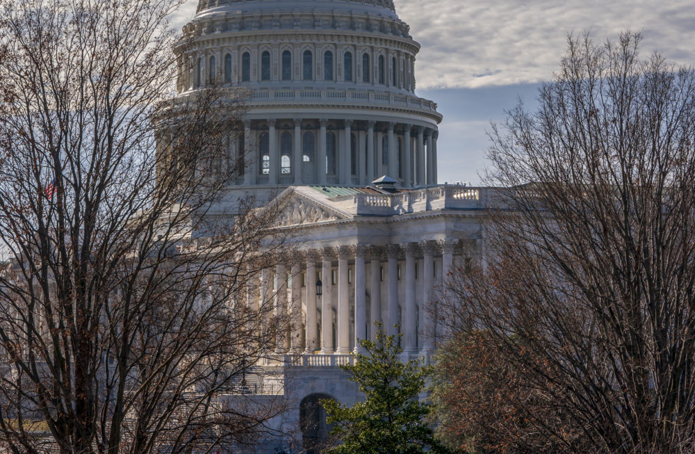 Chances look slim for ending the partial government shutdown any time soon, and Massachusetts financial planners are preparing. U.S. representatives and senators are returning to the Capitol, seen from the Russell Senate Office Building in Washington, Thursday, Dec. 27, 2018, to resume talks to fund the government. (J. Scott Applewhite/AP)