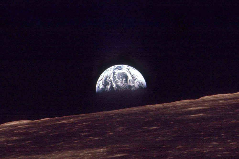Years Ago Apollo 8 Wished Earth A Merry Christmas Eve
