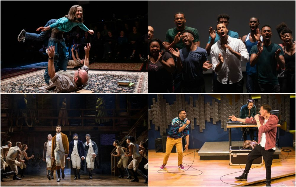 """Theater critics Carolyn Clay and Ed Siegel take a look at the year's best productions locally, including """"Fun Home,"""" """"Black Clown,"""" """"Hamilton"""" and """"Hype Man."""" (Courtesy)"""