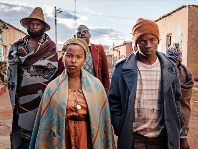 """The cast of """"Five Fingers for Marseilles."""" (Courtesy)"""