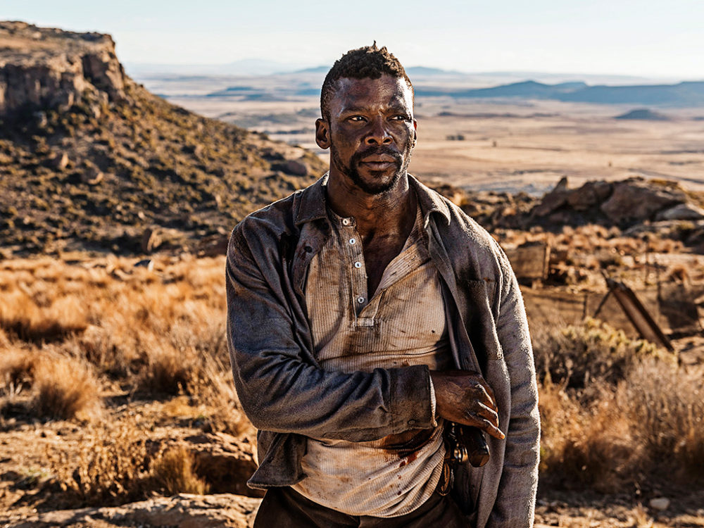 "Vuyo Dabula as adult Tau in ""Five Fingers for Marseilles."" (Courtesy)"