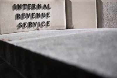 The Internal Revenue Service building in Washington, D.C., on April 18, 2018. (Jim Watson/Getty Images)