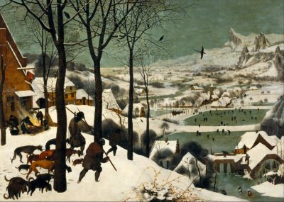 "Bruegel's ""Hunters in the Snow."""