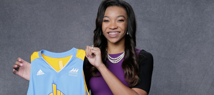 Imani was selected 10th overall in the 2016 WNBA Draft. (Courtesy Imani McGee-Stafford)