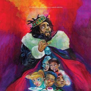 "J. Cole's ""KOD."" (Courtesy)"