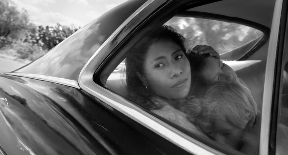 "Yalitza Aparicio as Cleo in ""Roma."" (Courtesy Alfonso Cuarón/Netflix)"