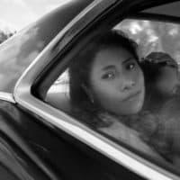 "Yalitza Aparicio as Cleo in ""Roma."" (Courtesy Alfonso Cuarón/Netflix)"