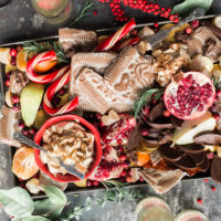 A platter of goodies for a holiday meal. (Courtesy Brooke Lark/Unsplash)