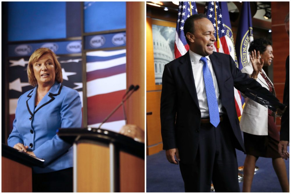 Rep. Carol Shea-Porter, D-N.H., and Rep. Luis Gutiérrez, D-Ill., are shown here. (Jim Cole/AP and Jacquelyn Martin/AP)