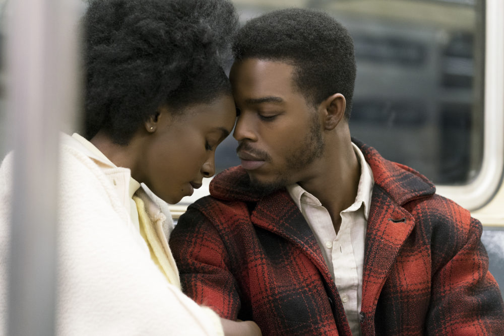 """KiKi Layne as Tish and Stephan James as Fonny star in """"If Beale Street Could Talk."""" (Courtesy Tatum Mangus/Annapurna Pictures)"""