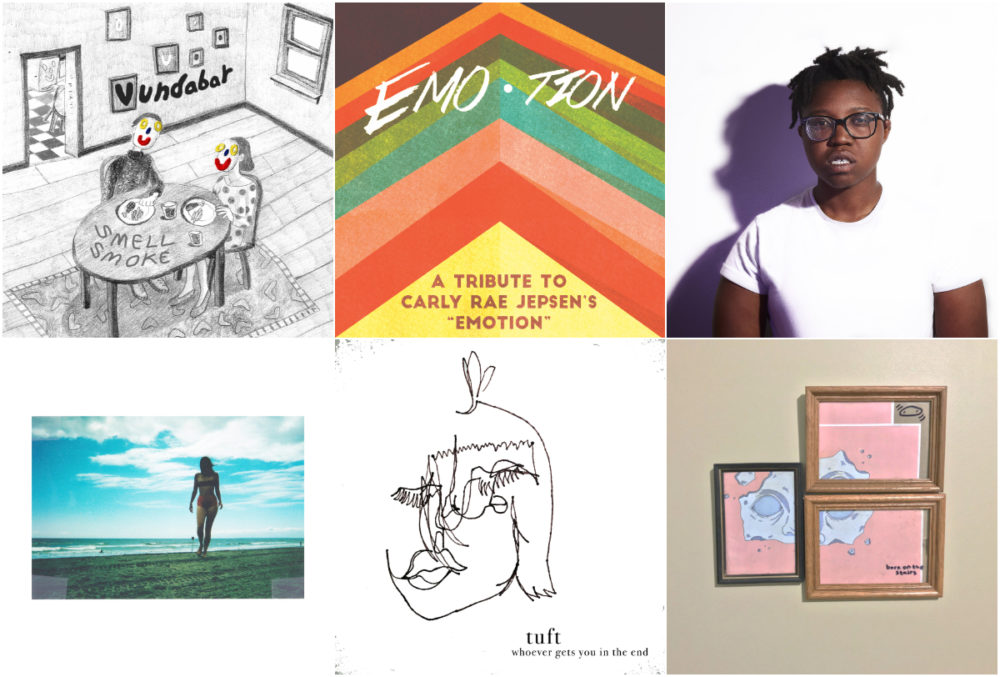 Critic Amelia Mason chose these albums as her favorite of from the Boston scene this year. (Courtesy)