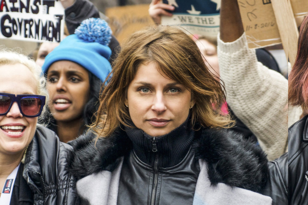 Vanessa Wruble, formerly a leader of the Women's March, who says she feels she was forced out of the group's leadership in part because she is Jewish. (Courtesy of Vanessa Wruble)
