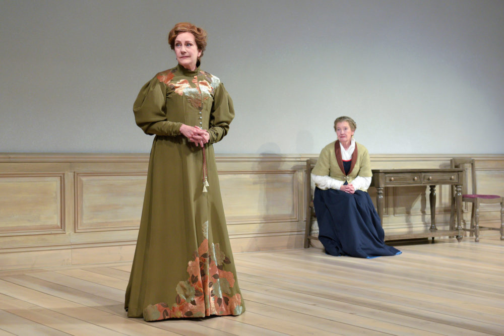 "Mary Beth Fisher and Nancy E. Carroll in ""A Doll's House."" (Courtesy Kevin Berne)"