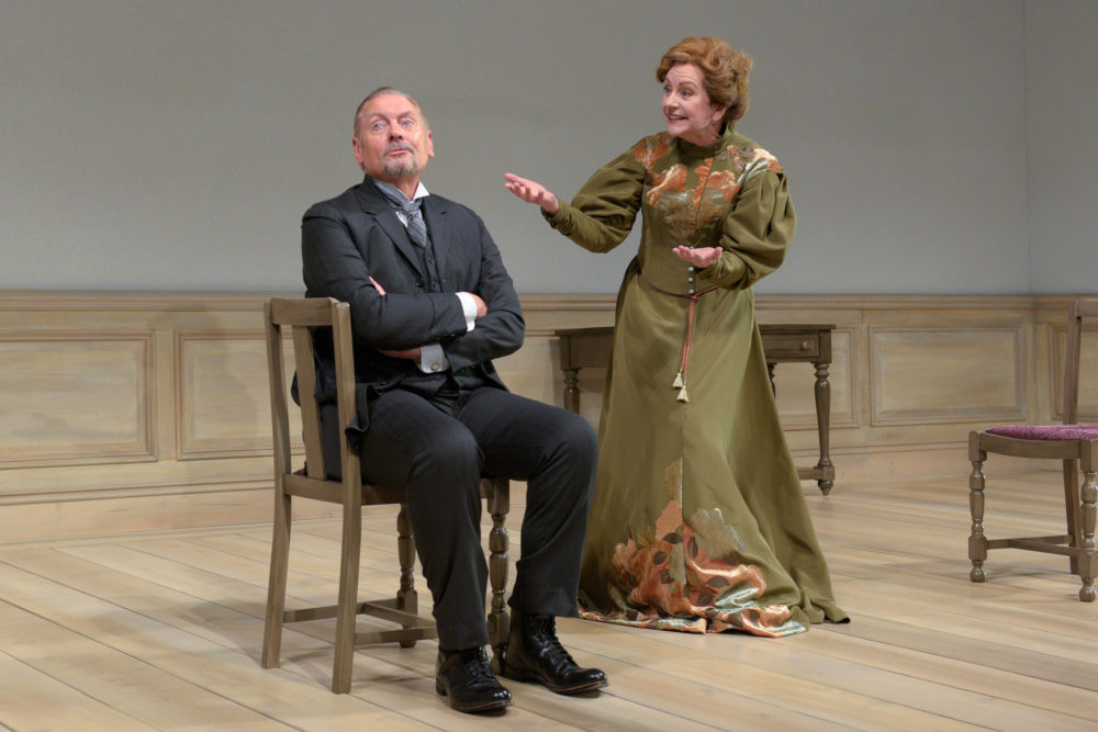"John Judd as Torvald and Mary Beth Fisher as Nora in ""A Doll's House 2."" (Courtesy Kevin Berne)"