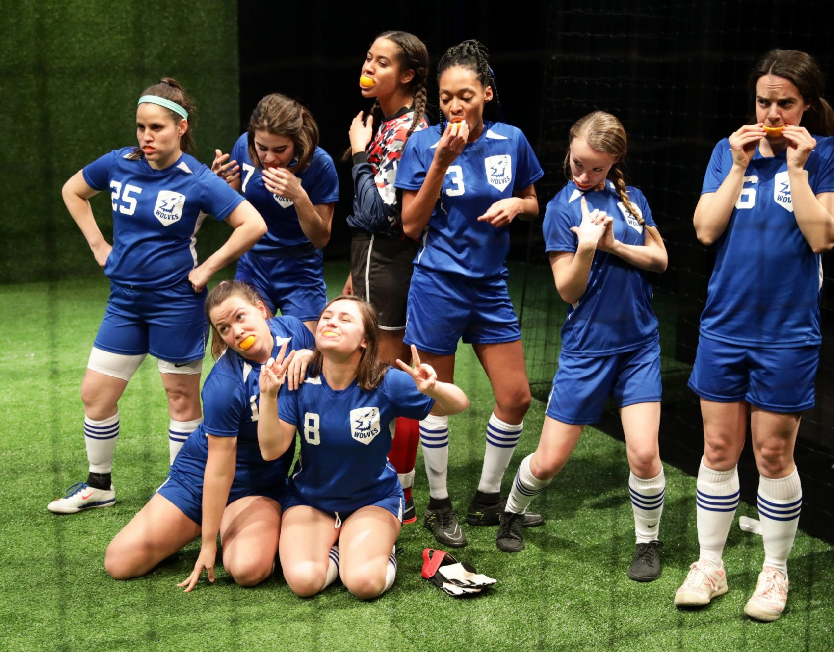 Lyric Stage's 'The Wolves' Successfully Creates A Team, Yet